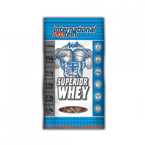 International protein Superior Whey 10lbs, Chocolate